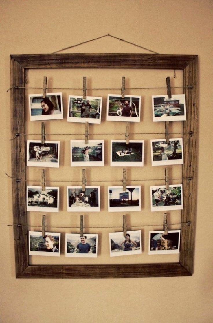 deko mit erinnerungen 11 ideen mit denen sie fotocollage selber machen upcycling wand and craft. Black Bedroom Furniture Sets. Home Design Ideas