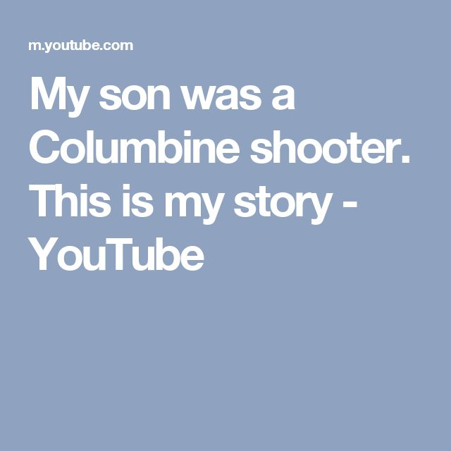Columbine High School Shooting 13 Dead Dozens Hurt In: Columbine Shooters On Pinterest