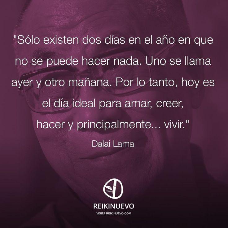 Dalai Lama: El día ideal http://reikinuevo.com/dalai-lama-el-dia-ideal/