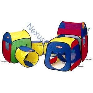 Multi Play Tent House Tunnels Playtent Kids Outdoor Castle Playhouse Kid Tunnel   eBay