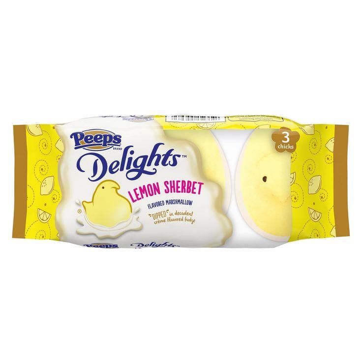 Peep's Easter Lemon Sherbet Delights - 3ct/1.5oz - image 1 of 1
