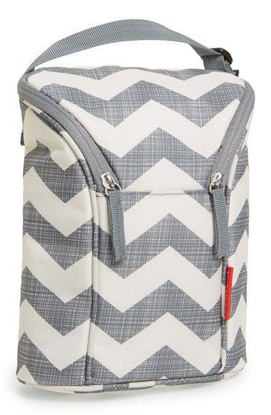 #grey chevron double bottle bag @Nordstrom  http://rstyle.me/n/jpq2hr9te