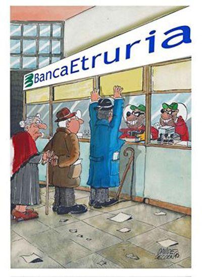 Banca Etruria: banda Bassotti assolta...
