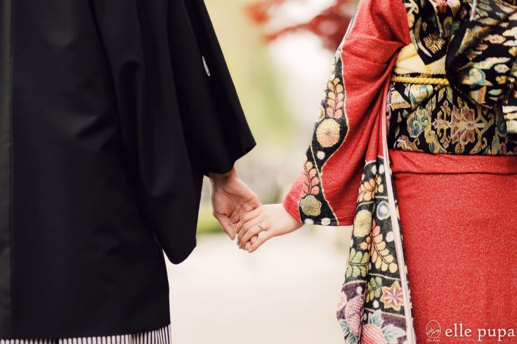 祇園で朱色に囲まれて*和装前撮り  和ウェディング