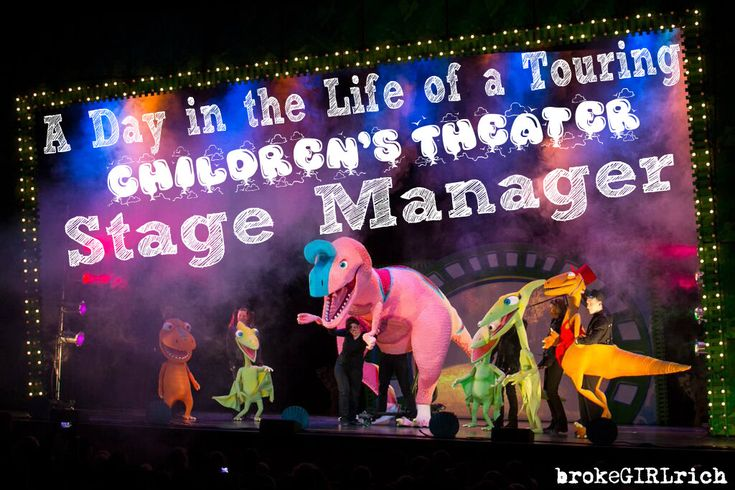 A Day in the Life of a Touring Children's #Theater Stage Manager #stagemanagers