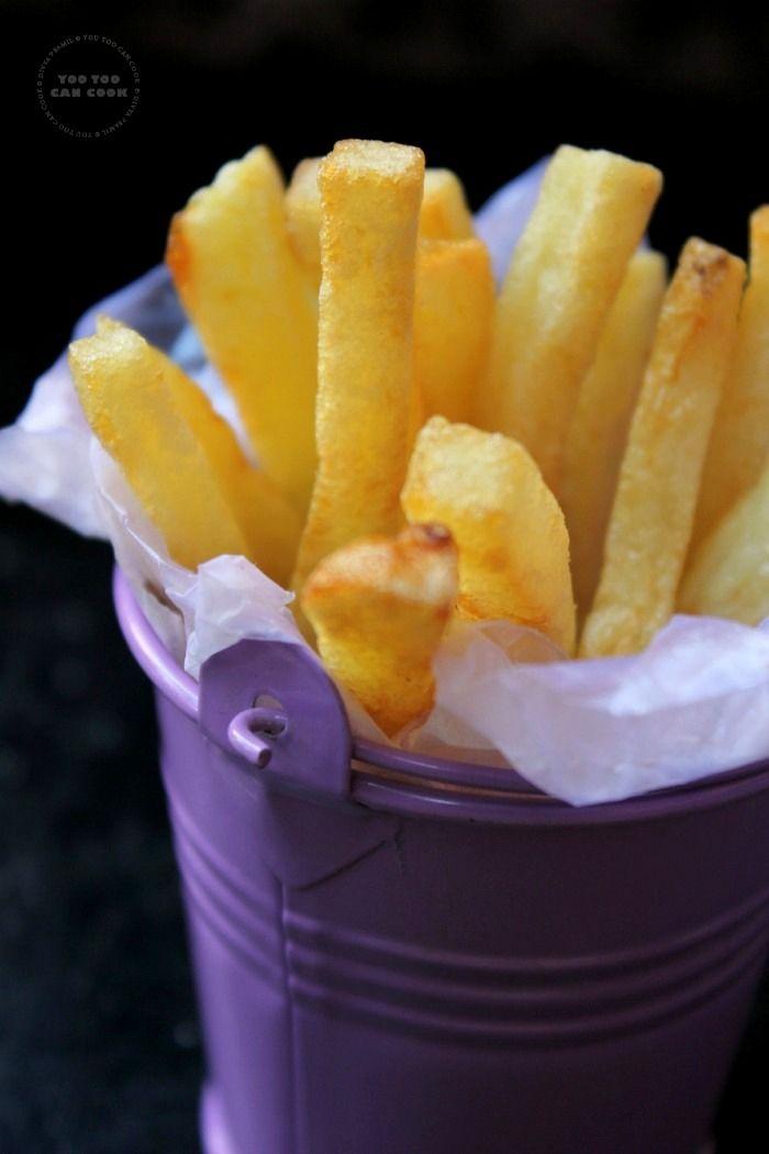 French Fries Recipe | Homemade French Fries | Potato Fries | Finger Chips | Hot Chips | Crispy Potato Fry