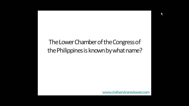 Q and A about the Constitution of the Philippines which might be helpful during your preparation of the Civil Service Examination.