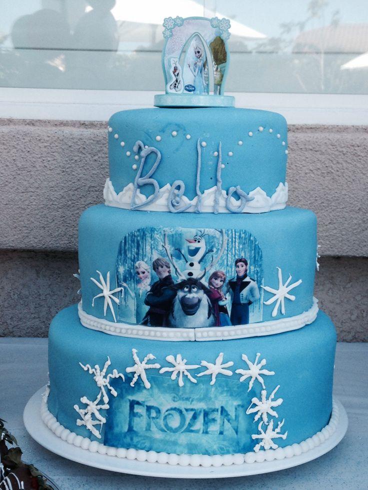 Frozen cake | Fondant cake designs | Pinterest | Frozen ...