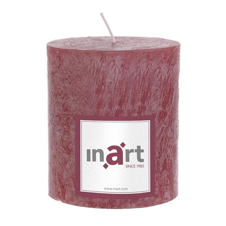 Pillar Paraffin Scented Candle 9x10 cm - Candles - Aromatics - DECORATIONS - inart