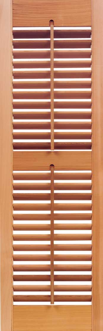 """Check out the deal on Plantation Movable 1 7/8"""" Louver Cedar Shutters (pair) at Larson Shutter Company"""