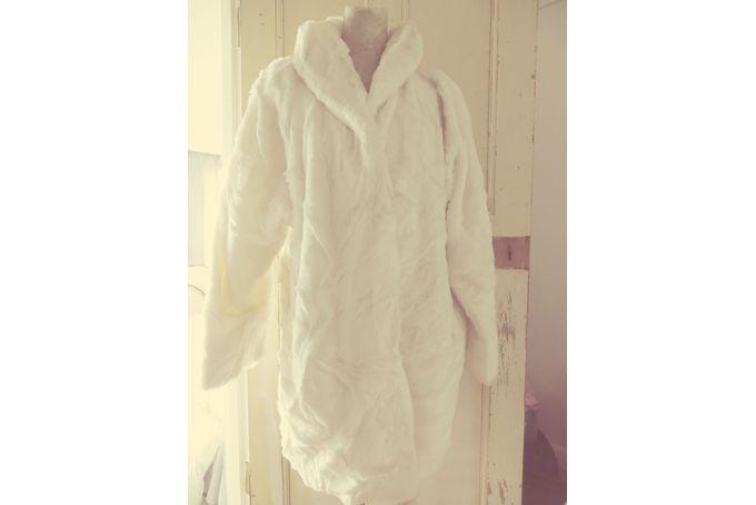 vintage cream faux fur coat by The boho broom cupboard