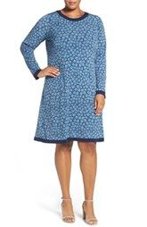 New MICHAEL Michael Kors Bayeux Print A-Line Dress (Plus Size) online, New offer for MICHAEL Michael Kors Bayeux Print A-Line Dress (Plus Size) @>>hoodress dress shop<<