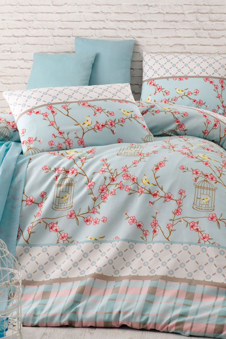 263 best images about textil bed linge de lit on pinterest for Housse de couette noir et beige