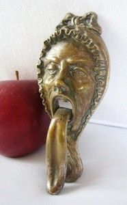 Antique door knocker:...