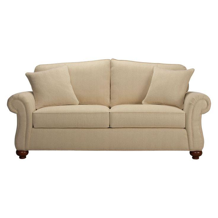 Whitney two cushion sofa ethan allen us w out nailhead for Ethan allen hudson sofa