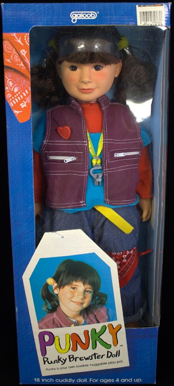 1984 Soleil Moon Frye as Punky Brewster Doll by Galoob