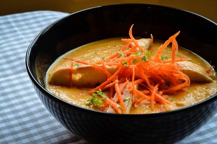 Mrkvový krém ~ Mangiare squisito ~ Foodblog