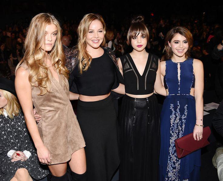 Celebs at New York Fashion Week   NBC New York