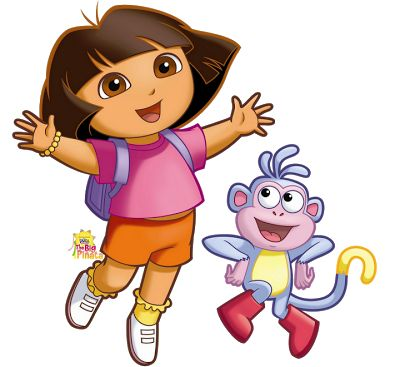 Cartoon Characters: Dora The Explorer (PNG photos)  Also has lots of Nick Jr Pics