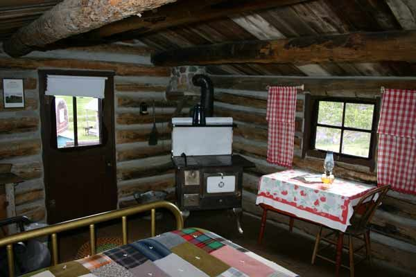 One Room Primitive Cabin Interiors Log Sheepherder S