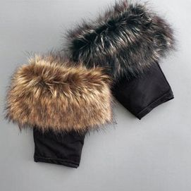 Fur boot toppers - sass up any boot with these fun toppers!