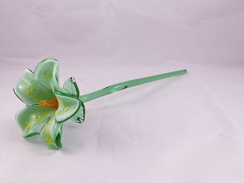 127 Best Glass Flowers Images On Pinterest Glass Flowers Blown Glass And Crystals