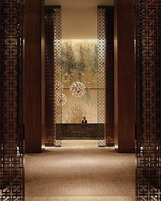 Four Seasons Hotel, Toronto designed by Yabu Pushelberg