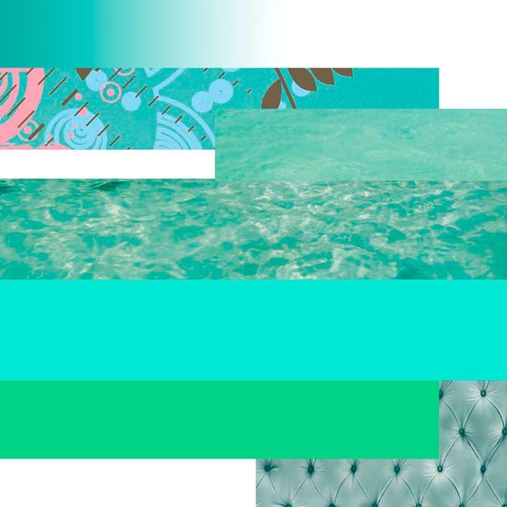Couleur de l'été : menthe à l'eau...et limbourghi !