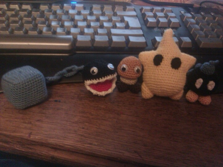 Croched chainchomp, ?, Luma, bombom