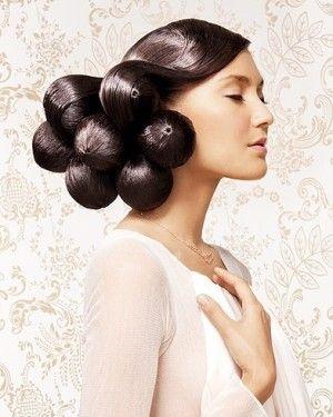 Coiffure mariée  les plus belles coiffures de mariée tendance en 2017 ,  Elle
