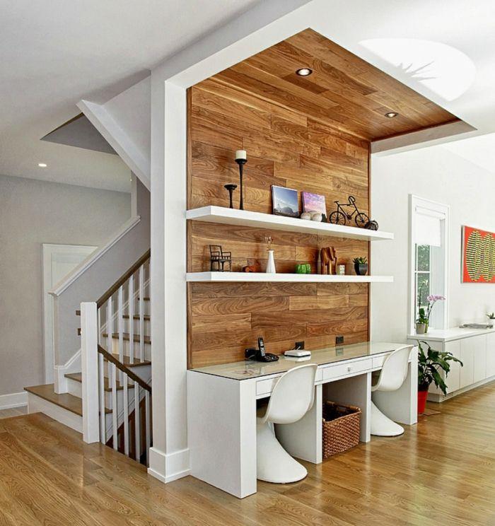 152 best Parquet images on Pinterest Contemporary houses, Home - Stratifie Mural Salle De Bain