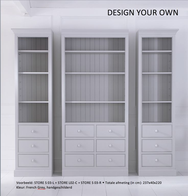 Design your own. #flexibility #store
