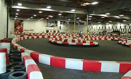 indoor go kart racing - multiple locations in southern CA