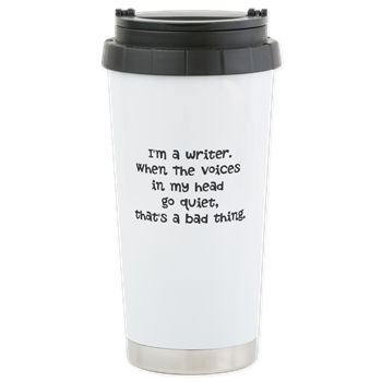 I'm a writer. Travel Mug
