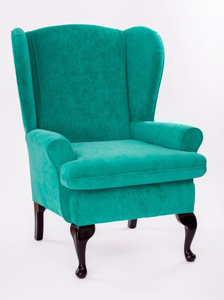 Fotel BlueVelvet turkus turkusowy vintage (łowca: Non Stop Color), do kupienia w DecoBazaar.com