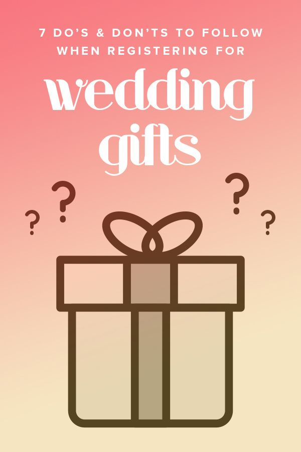 If wedding bells are in your future this guide is filled for When do you register for wedding gifts