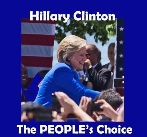 Beyond redistricting and gerrymandering, I'm still with her! #ThePeoplesChoice