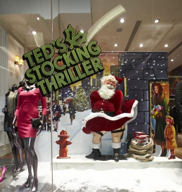 Retail design_window display_Visual merchandising_TedBaker1
