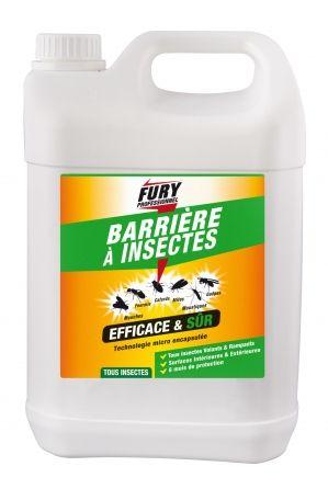 Barrière à insectes Fury professionnel 5l