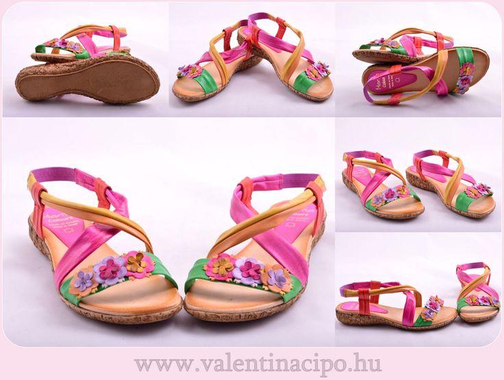 A Marila szandálok, a fiatalos  dinamikus nők számára  készülnek! A  spanyol cipőtervezők célja, hogy a színes, vidám és kényelmes lábbeliket, kortól függetlenül mindenki büszkén viselje. Valentina Cipőboltokban & Webáruházunkban több  Marila  szandált is megtekinthet!  http://valentinacipo.hu/220-61-25