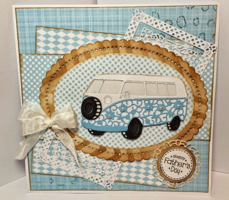 Tattered Lace Challenge Blog: June Challenge - One for the Guys