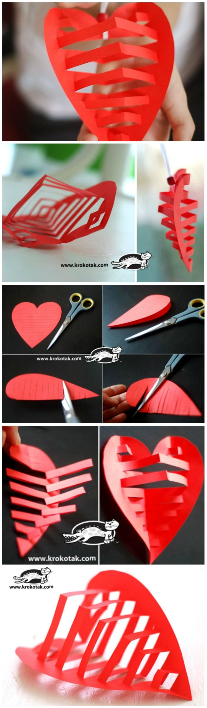 Awesome 3D Paper Heart