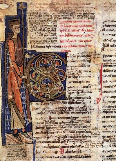 MINIATURIST, Italian -  Justinian: Corpus Juris Civilis, 1200-50, Manuscript (Ms. CLXXIII), Biblioteca Capitolare, Verona