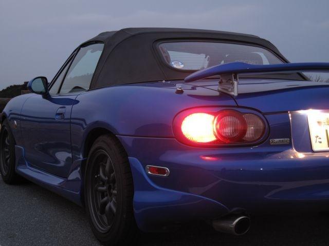 Nb Mazda Miata With A Spec Mazdaspeed Rear Wing Mazda