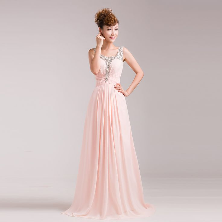 whatgoesgoodwith.com cheap-long-pink-dresses-13 #cuteoutfits