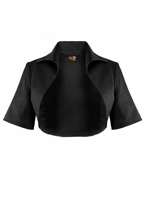 1950s Bolero Jacket - Black