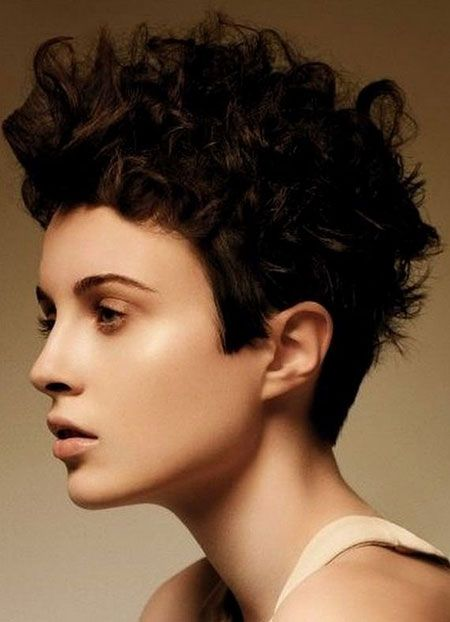 Amazing 1000 Images About Short Curly Hair On Pinterest Short Curly Hairstyles For Women Draintrainus
