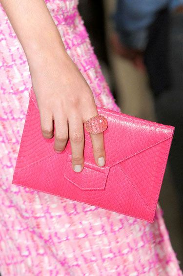 Pale Nails at Oscar de la Renta - The Best Spring 2013 Nail Trends to Try Now