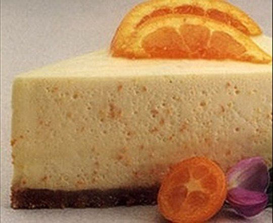 Creamy Orange Cheesecake | PHILADELPHIA #recipes #cheesecakerecipes
