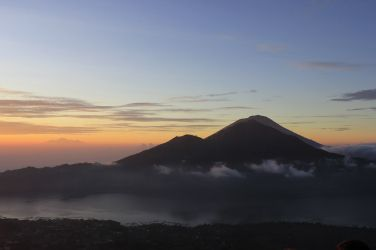 Sunrise from Mount Batur, Bali